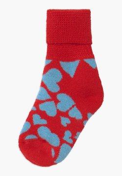 Happy Socks - KIDS HEART COZY  - Socken - red/blue