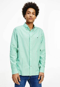 Tommy Hilfiger - BOLD STRIPE REGULAR FIT - Hemd - grün