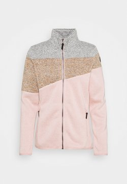 Icepeak - ALTOONA - Fleecejacke - light pink