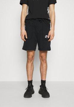 Nike Sportswear - AIR - Jogginghose - black/dark smoke grey/white