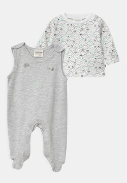 Jacky Baby - WELCOME UNISEX - Pyjama - grey, white