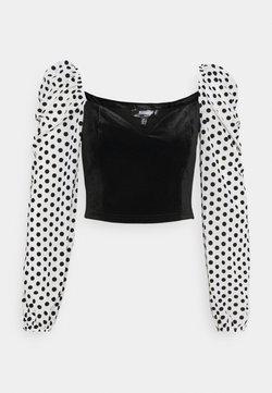Missguided Tall - Langarmshirt - black