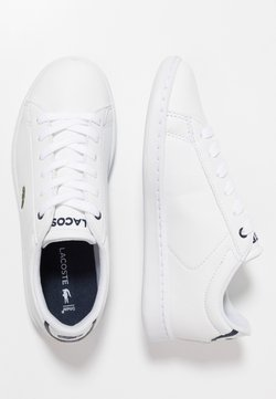 Lacoste - CARNABY EVO - Sneaker low - white/navy