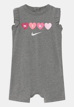 Nike Sportswear - RUFFLE SLEEVE  - Jumpsuit - carbon heather