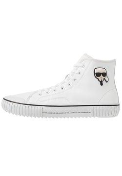 KARL LAGERFELD - KAMPUS II KARL 3D IKON - Sneaker high - white