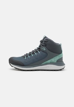 Columbia - TRAILSTORM MID WP - Hikingschuh - graphite/dusty green