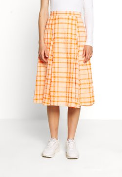 Envii - SKIRT - A-Linien-Rock - orange