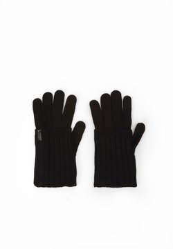 Nike Performance - COLD WEATHER KNIT GLOVES - Fingervantar - black/black/silver
