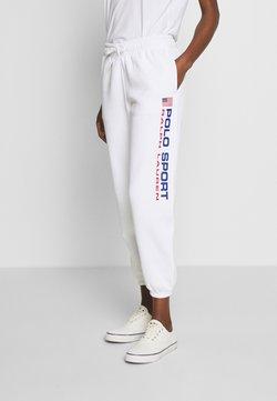 Polo Ralph Lauren - ANKLE PANT - Jogginghose - white