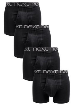 Next - A-FRONTS 4 PACK - Shorty - black