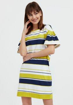 Finn Flare - Jerseykleid - yellow