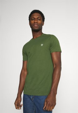 Marc O'Polo - SHORT SLEEVE - T-Shirt basic - dried herb