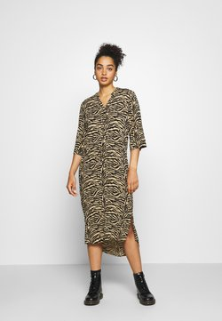 Soaked in Luxury - ZAYA DRESS - Korte jurk - beige