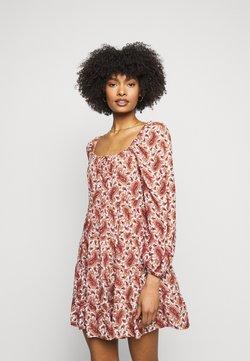 Faithfull the brand - NALINE DRESS - Freizeitkleid - burgundy