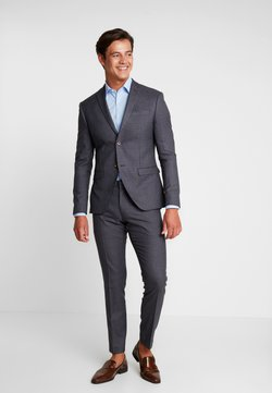 Isaac Dewhirst - FASHION SUIT CHECK - Kostuum - blue