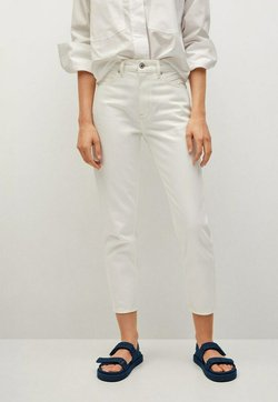 Mango - MOM - Relaxed fit jeans - wit