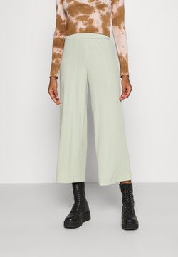 Monki - CILLA TROUSERS - Jogginghose - green
