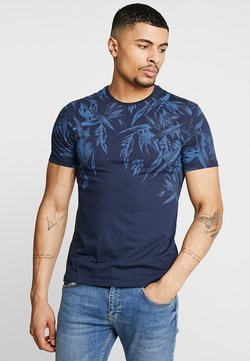 Pier One - T-shirt con stampa - blue