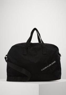 Calvin Klein Jeans - DUFFLE - Viikonloppukassi - black