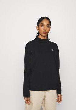 Champion Reverse Weave - HIGH NECK - Longsleeve - black