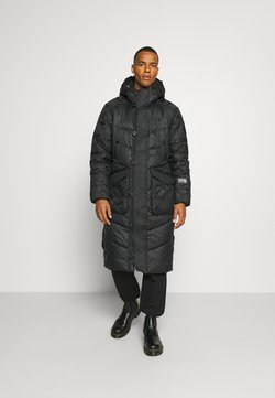 G-Star - UTILITY QUILTED EXTRA LONG PARKA - Wintermantel - namic lite black