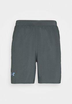 Under Armour - LAUNCH SHORT - Pantalón corto de deporte - grey