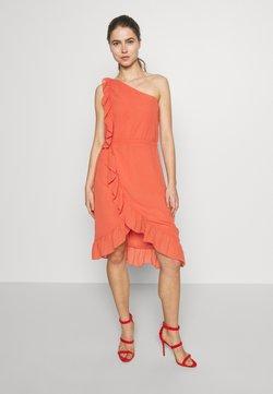 Bruuns Bazaar - ROSALINA KENDRA DRESS - Cocktailkleid/festliches Kleid - poppy red
