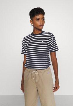 Carhartt WIP - ROBIE - T-Shirt print - dark navy/white