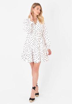 Ro&Zo - SPOT - Blusenkleid - white