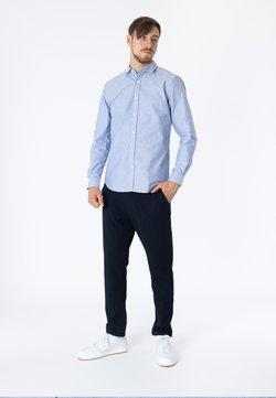 CLOSED - Businesshemd - indigo blue