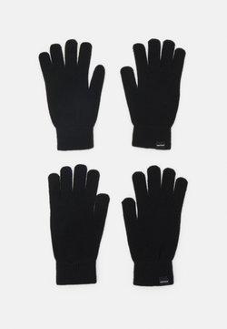 Jack & Jones - JACSONNY GLOVES 2 PACK - Fingerhandschuh - black