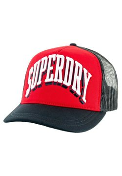 Superdry - Casquette - rouge