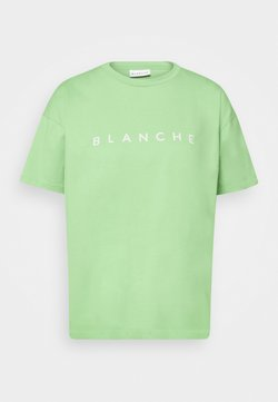 BLANCHE - MAIN CONTRAST - T-shirt print - jade lime