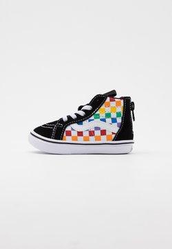 Vans - COMFYCUSH SK8 ZIP - Sneakersy wysokie - rainbow/true white