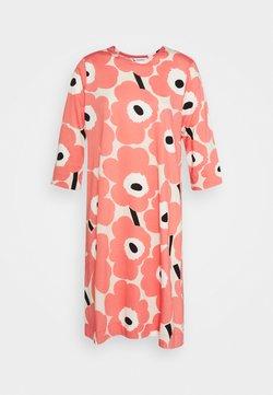 Marimekko - CLASSICS KAUNEUS UNIKKO DRESS - Jerseykleid - beige/rose/black