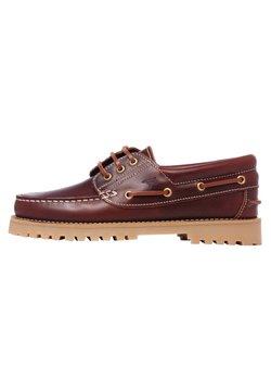 Son Castellanisimos - CASTELLANISIMOS - Chaussures bateau - brown
