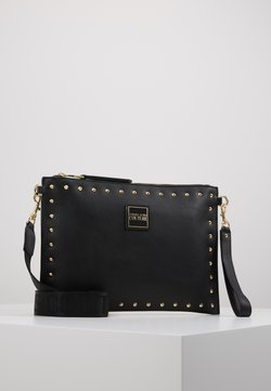 Versace Jeans Couture - STUDDED POUCH ON STRAP - Pikkulaukku - black