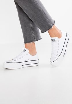 Converse - CHUCK TAYLOR ALL STAR LIFT - Baskets basses - white/garnet/navy
