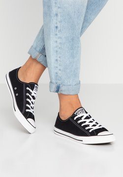 Converse - CHUCK TAYLOR ALL STAR DAINTY BASIC - Matalavartiset tennarit - black/white
