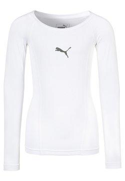 Puma - Tekninen urheilupaita - white