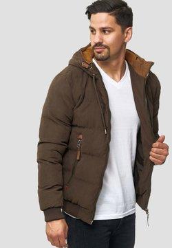 INDICODE JEANS - Winterjacke - mottled brown