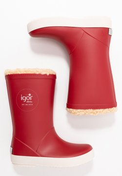 IGOR - SPLASH NAUTICO BORREGUITO - Bottes en caoutchouc - rojo/red