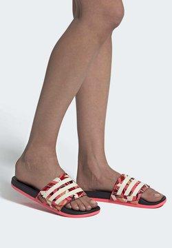 adidas Performance - Badesandale - cblack linen sigpnk