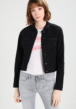 Vero Moda - VMHOT SOYA  - Veste en jean - black