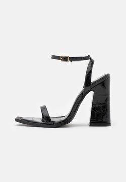 RAID - ROUGE - Sandaalit nilkkaremmillä - black
