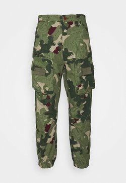 G-Star - TAPERED PATCH POCKET PANT - Kangashousut - khaki