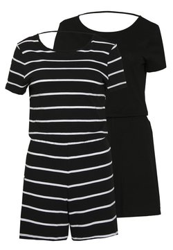 ONLY Tall - ONLMAY LIFE PLAYSUIT TALL 2PACK - Combinaison - black