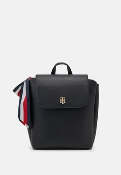 Tommy Hilfiger - CHARMING BACKPACK - Reppu - black