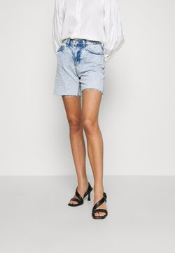 Topshop - ACID EDITOR  - Jeansshort - bleach stone