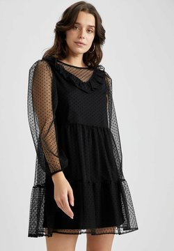 DeFacto - Cocktailkleid/festliches Kleid - black